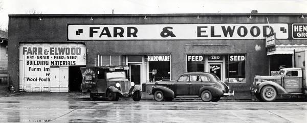 farr's hardware historic storefront