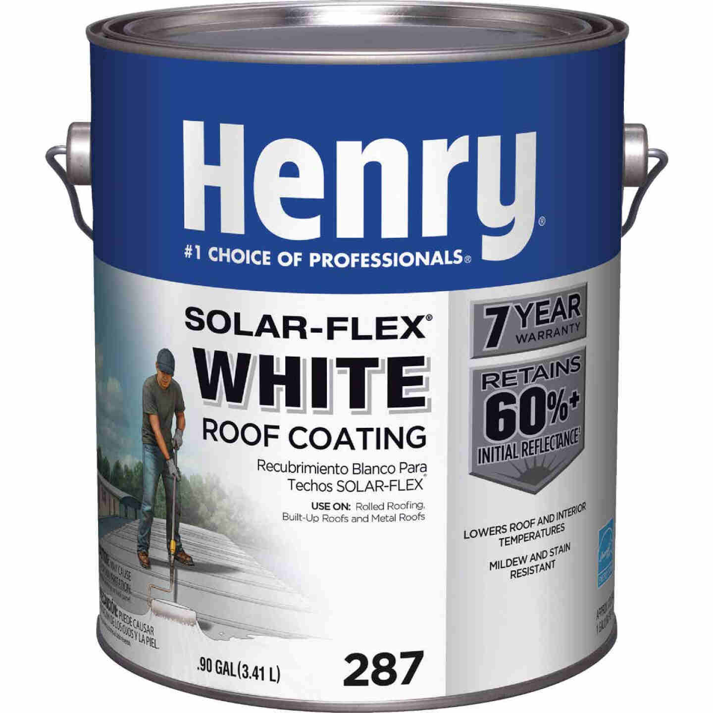 Henry Solar-Flex 1 Gal. White Acrylic Latex Elastomeric Roof Coating Image 1