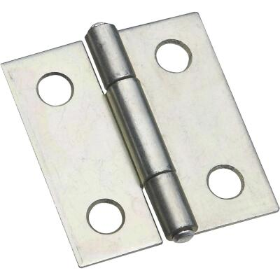 National 1-1/2 In. Zinc Tight-Pin Narrow Hinge (2-Pack)