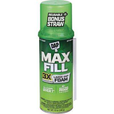 DAP Max Fill 12 Oz. Triple Expanding Foam Sealant