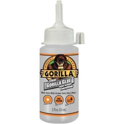 Gorilla 3.75 Oz. Clear All-Purpose Glue