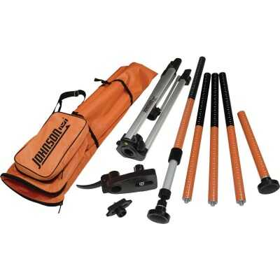 Johnson Level All-In-One Laser Mounting Pole with Tripod