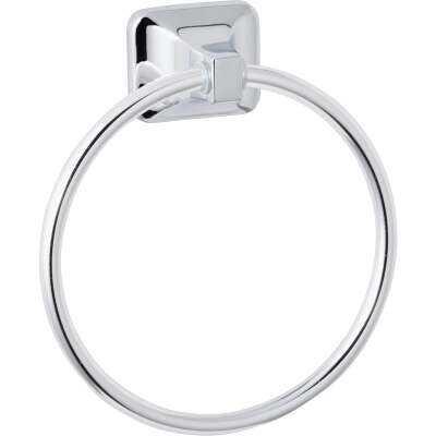 Home Impressions Vista Polished Chrome Towel Ring