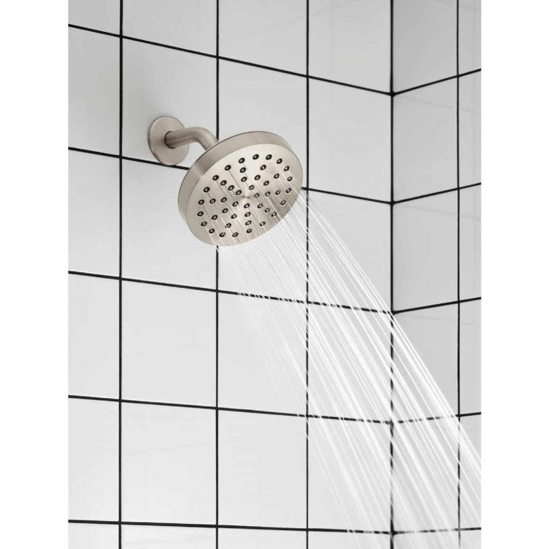 Moen Rinza Spot Resistant Nickel Single-Handle Posi-Temp Tub & Shower Faucet Image 2