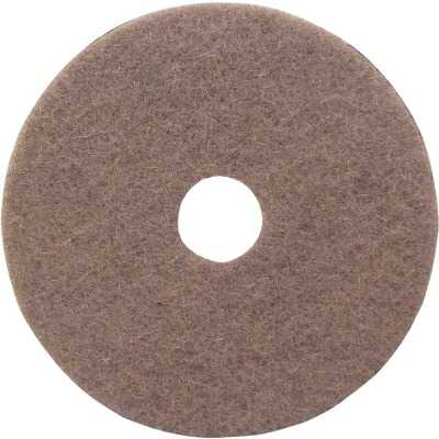 Lundmark 17 In. Natural Hair & Synthetic Fiber Buffing Pad (5-Pack)
