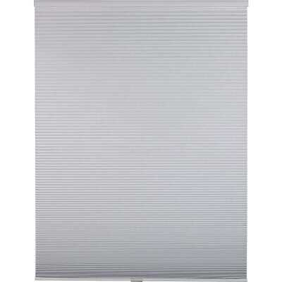 Home Impressions 1 In. Room Darkening Cellular White 27 In. x 72 In. Cordless Shade