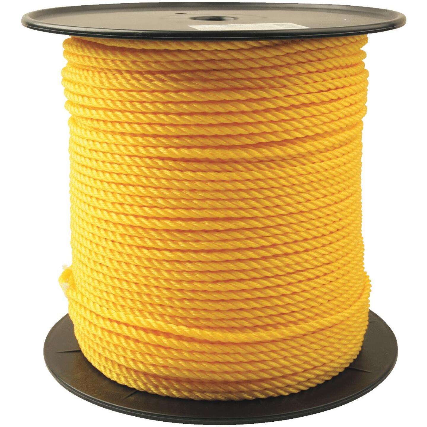 Do it 1/4 In. x 600 Ft. Yellow Twisted Polypropylene Rope Image 1