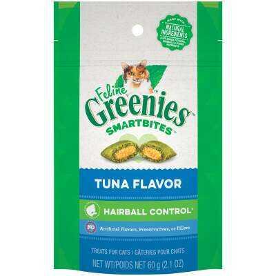 Greenies SmartBites Tuna 2.1 Oz. Hairball Control Cat Treats