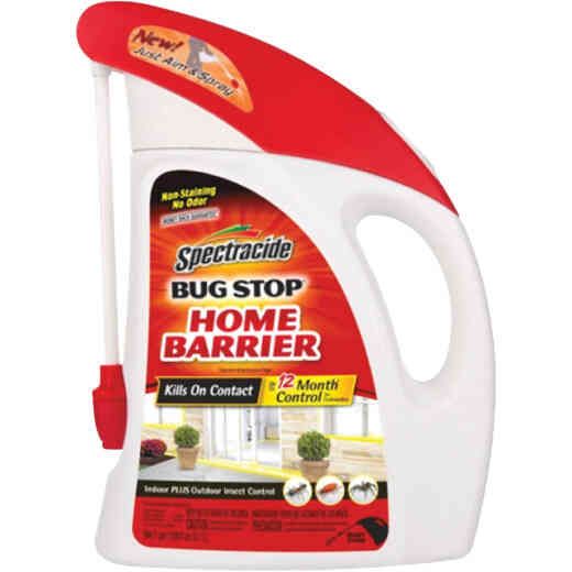 Spectracide Bug Stop Home Barrier 64 Oz. Ready To Use Wand Sprayer Insect Killer