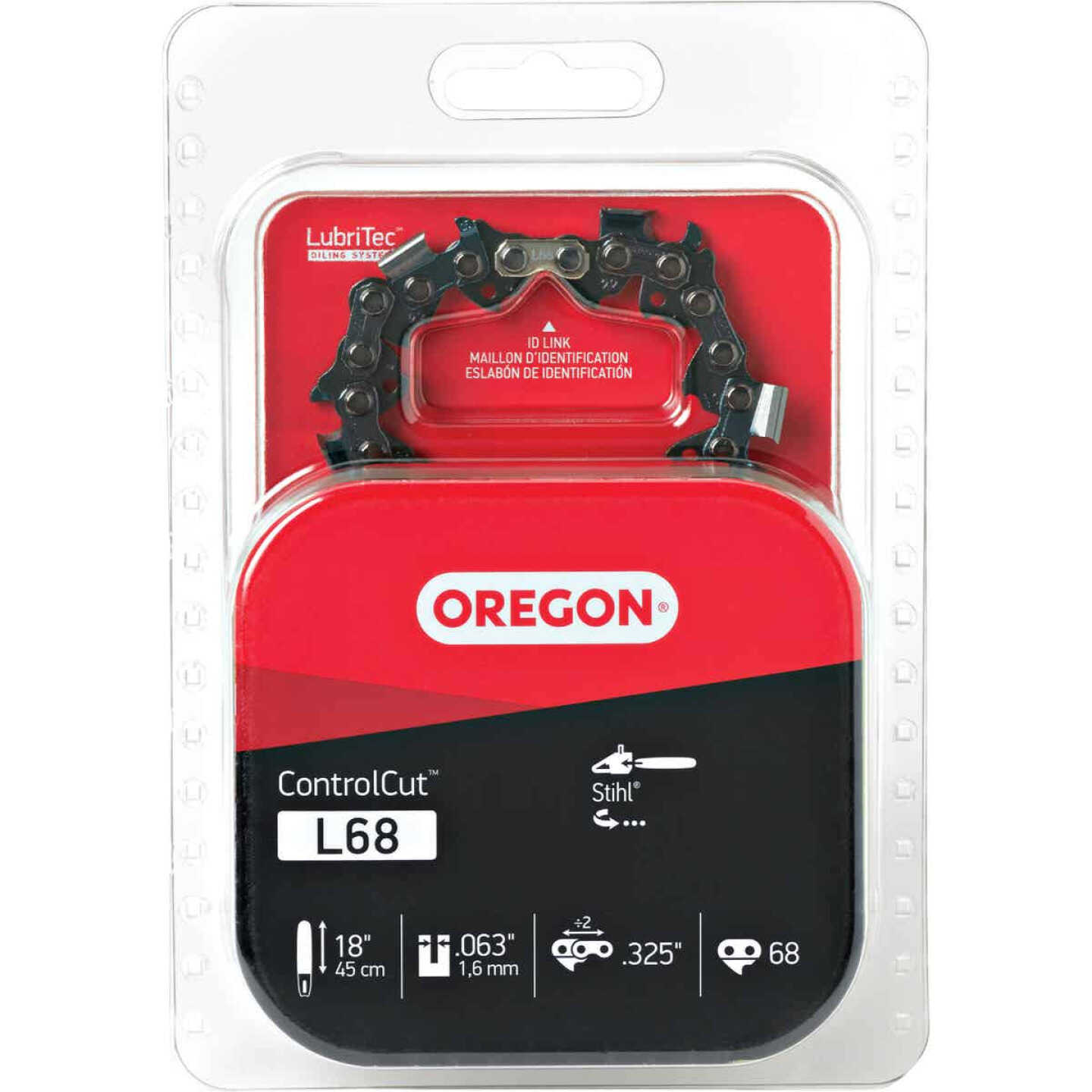 Oregon ControlCut L68 18 In. 0.325 In. 68 Link Saw Chain Image 2