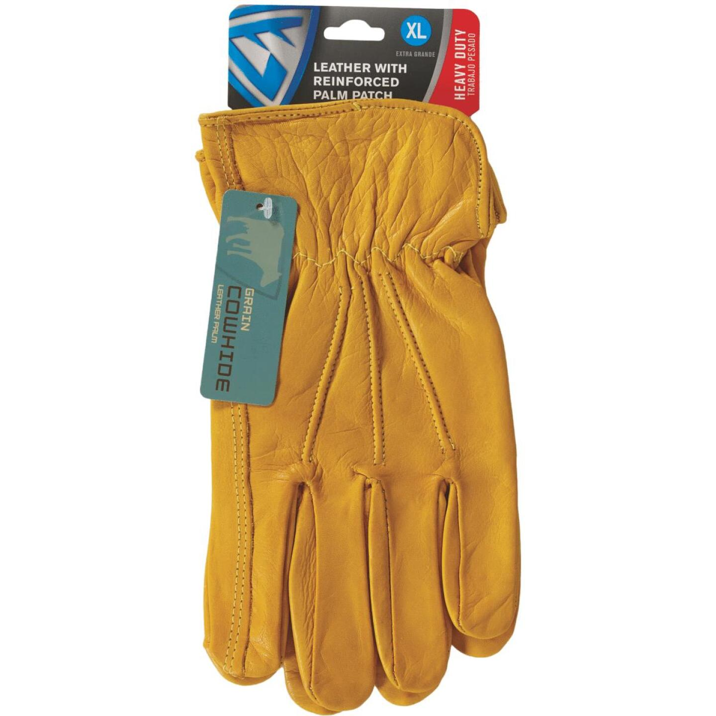 West Chester Protective Gear Men's XL Grain Cowhide Leather Work Glove Image 2