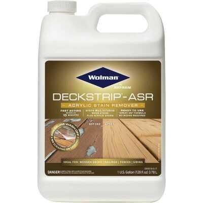 Wolman DeckStrip-ASR 1 Gal. Acrylic Stain Remover Deck Stripper