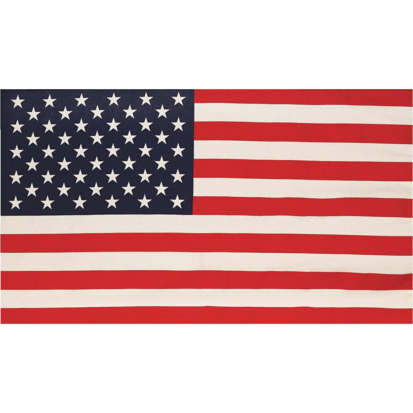 Valley Forge 2.5 Ft. x 4 Ft. Polycotton Banner American Flag Image 1